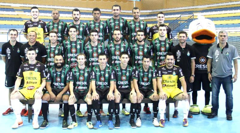 Das 19 equipes que disputam a Liga Nacional de Futsal (LNF 2016) 0205c79b4205c